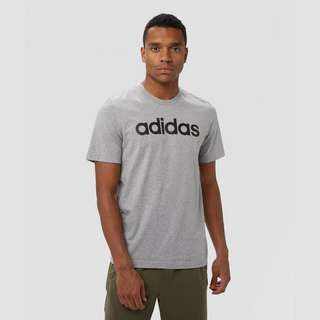 ADIDAS ESSENTIALS LINEAR SHIRT GRIJS HEREN
