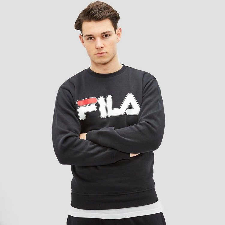 FILA ALBORETO SWEATER ZWART HEREN