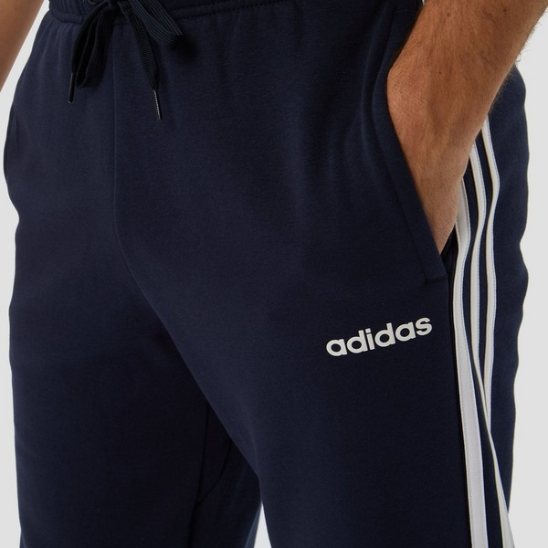 ADIDAS ESSENTIALS 3-STRIPES FLEECE JOGGINGBROEK BLAUW HEREN ...