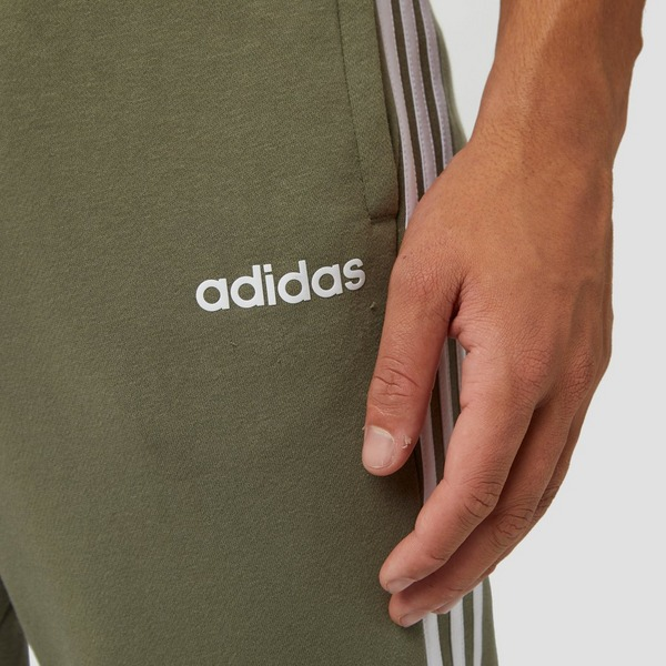 ADIDAS ESSENTIALS 3-STRIPES JOGGINGBROEK GROEN HEREN ...
