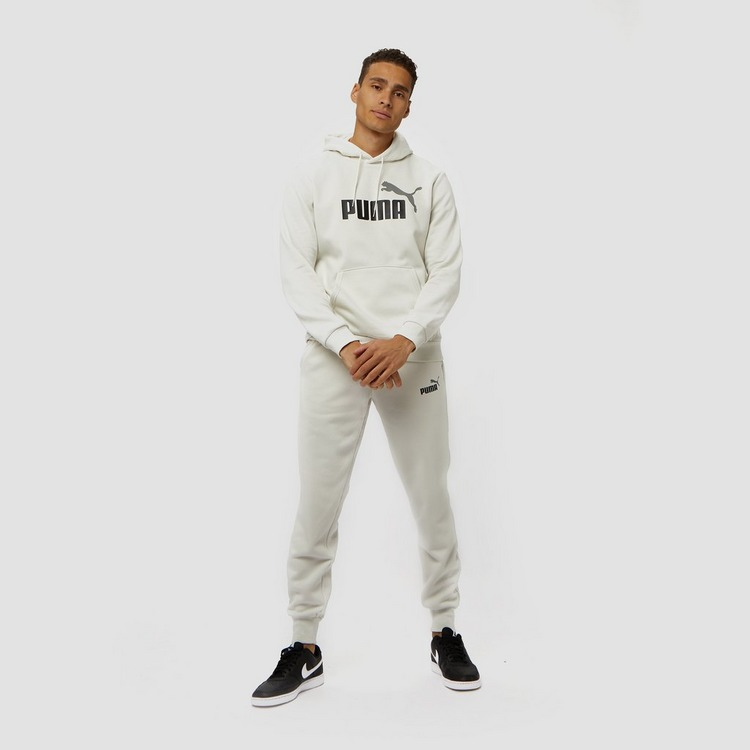 PUMA ESSENTIAL 2 LOGO FLEECE JOGGINGBROEK GRIJS HEREN