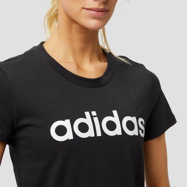 adidas shirt zwart dames