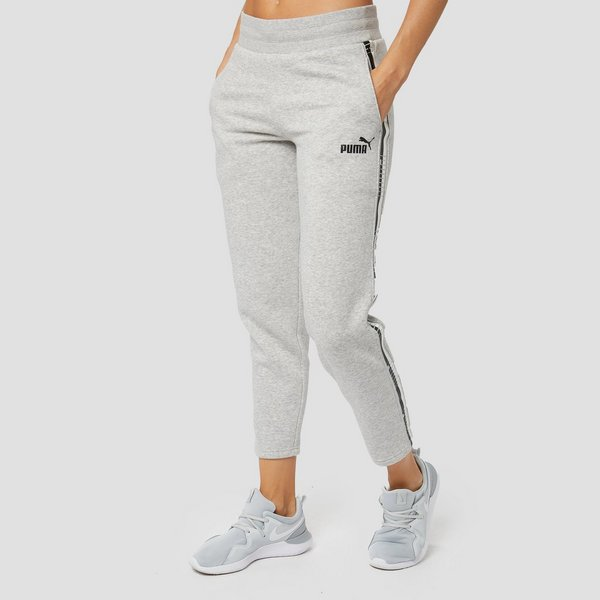 Merk Joggingbroek Dames.Puma Tape Fleece Joggingbroek Grijs Dames Aktiesport