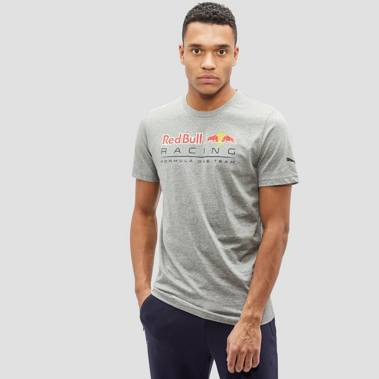 PUMA RED BULL RACING LOGO SHIRT GRIJS HEREN