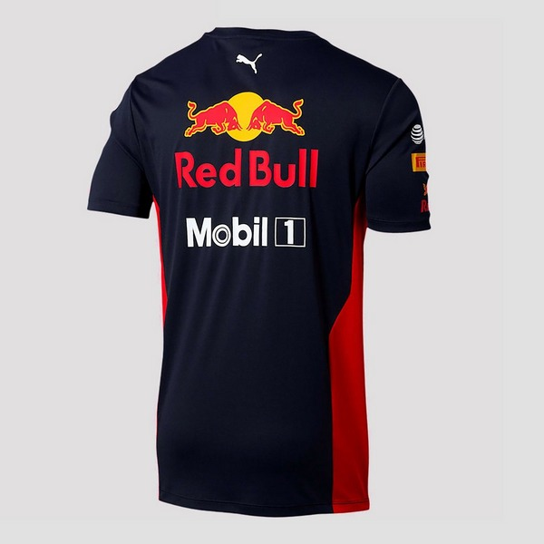 PUMA ASTON MARTIN - RED BULL RACING TEAM SHIRT BLAUW HEREN
