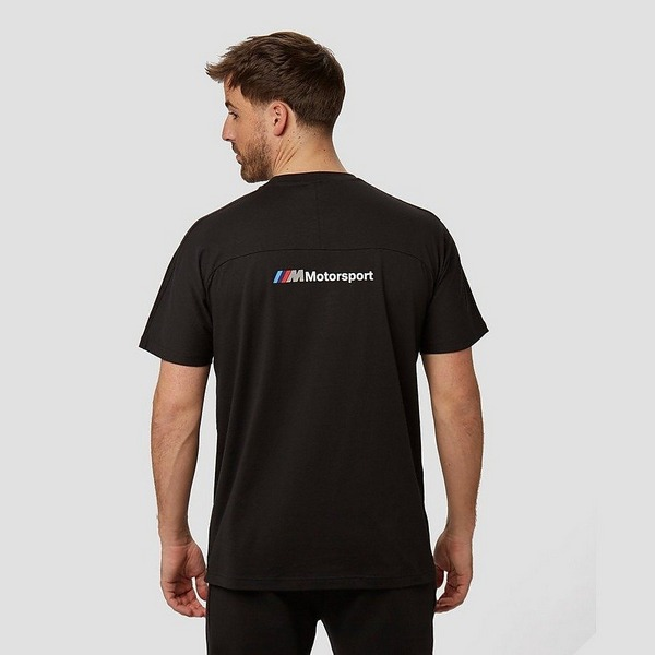 PUMA BMW M MOTORSPORT T7 SHIRT ZWART HEREN