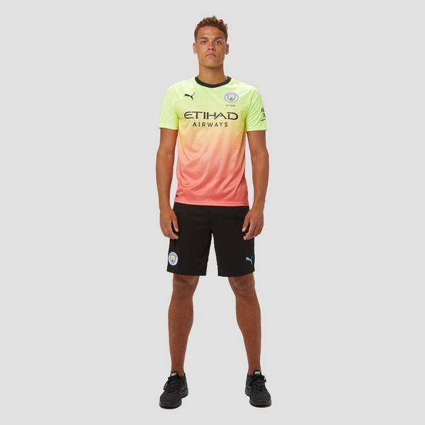 PUMA MANCHESTER CITY FC THIRD SHIRT 19/20 GEEL/ROZE HEREN