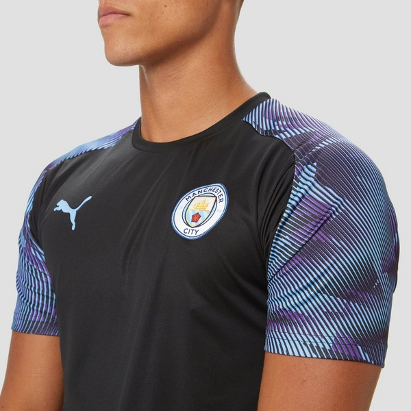 PUMA MANCHESTER CITY FC TRAININGSSHIRT 19/20 ZWART HEREN