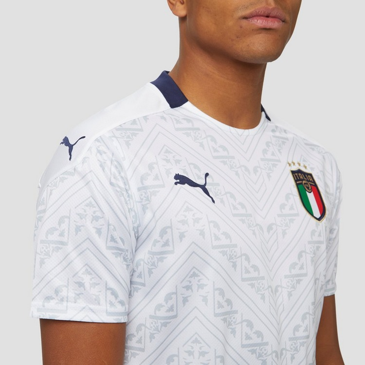 PUMA UEFA EURO 2020 FIGC ITALIE UITSHIRT 20/22 WIT HEREN