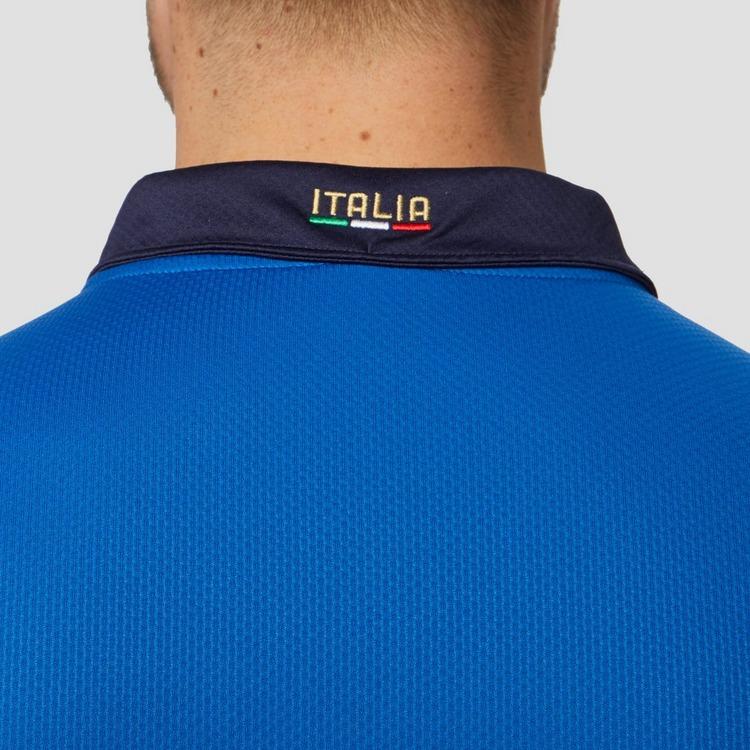 PUMA UEFA EURO 2020 FIGC ITALIË THUISSHIRT 20/22 BLAUW HEREN