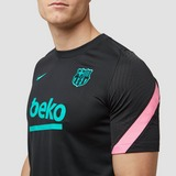 NIKE FC BARCELONA STRIKE THIRD TRAININGSSHIRT 20/21 ZWART/ROZE HEREN