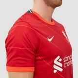 NIKE LIVERPOOL FC BREATHE STADIUM THUISSHIRT 21/22 ROOD HEREN