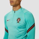 NIKE UEFA EURO 2020/2021 FPF PORTUGAL DRI-FIT STRIKE DRILL TRAININGSTOP 20/22 GROEN HEREN