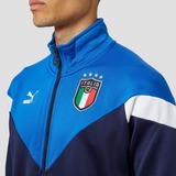 PUMA UEFA EURO 2020/2021 FIGC ITALIË ICONIC MCS TRAININGSJAS 20/22 BLAUW HEREN