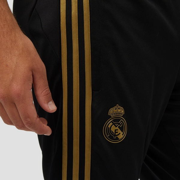 ADIDAS REAL MADRID TRAININGSBROEK 19/20 ZWART/GOUD HEREN