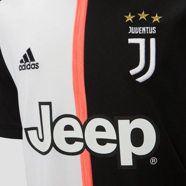 adidas JUVENTUS FC THUISSHIRT 19/20 WIT/ZWART KINDEREN