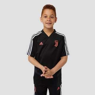 ADIDAS JUVENTUS FC TRAININGSSHIRT 19/20 ZWART/ROZE KINDEREN