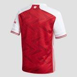 ADIDAS ARSENAL FC THUISSHIRT 20/21 ROOD/WIT KINDEREN