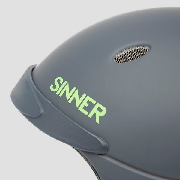 SINNER TITAN SKIHELM ZWART/GROEN