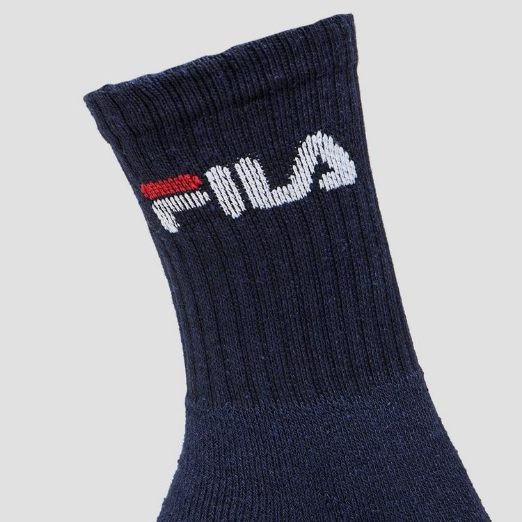 FILA CREW SOKKEN 3-PACK BLAUWHEREN