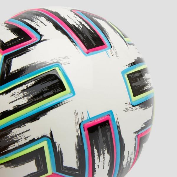 ADIDAS UEFA EURO 2020 UNIFORIA MINI VOETBAL WIT/GROEN
