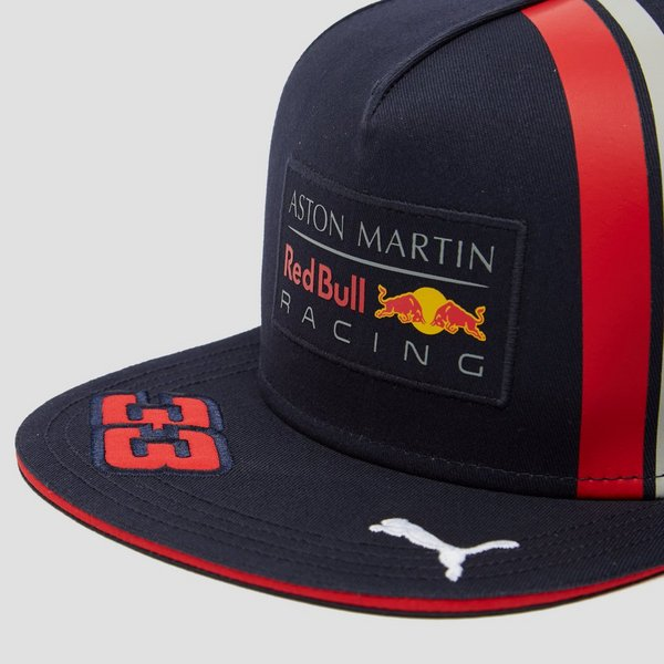 PUMA RED BULL RACING REPLICA MAX VERSTAPPEN FLATBRIM PET BLAUW
