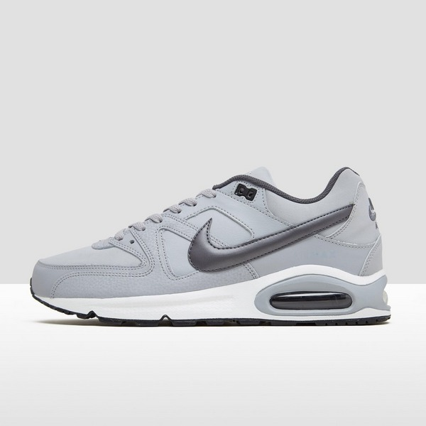 NIKE AIR MAX COMMAND LEATHER SNEAKERS GRIJS/ZWART HEREN