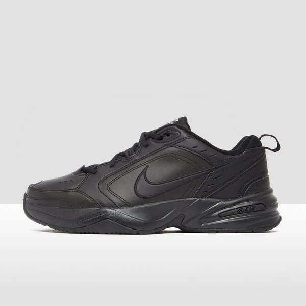 NIKE CHUNKY AIR MONARCH IV SNEAKERS ZWART HEREN