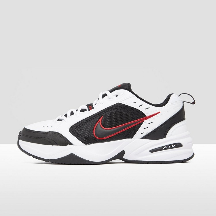 NIKE CHUNKY AIR MONARCH IV SNEAKERS ZWART/WIT HEREN