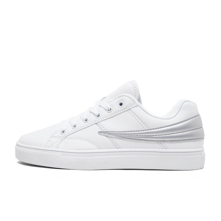 FILA SMOKESCREEN LOW SNEAKERS WIT/ZILVER DAMES