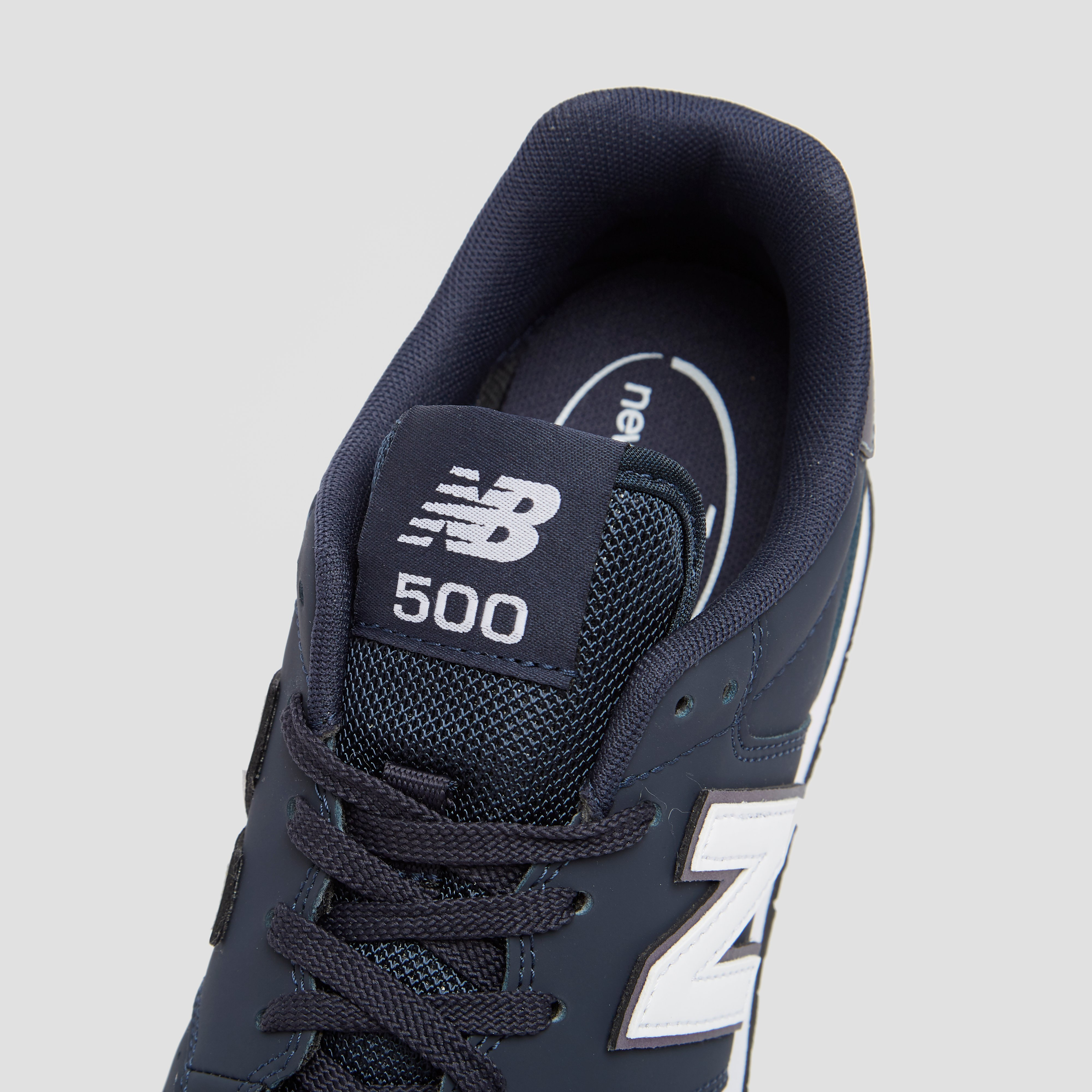 NEW BALANCE 500 SNEAKERS BLAUW DAMES