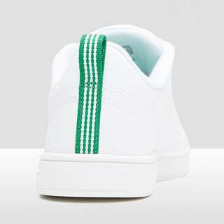 ADIDAS ADVANTAGE CLEAN VS SNEAKERS KIDS WIT/GROEN