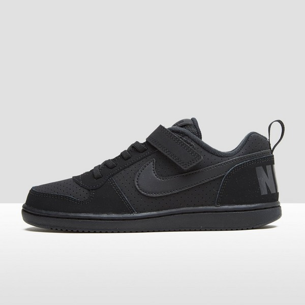 NIKE COURT BOROUGH LOW SNEAKERS ZWART KINDEREN | Aktiesport