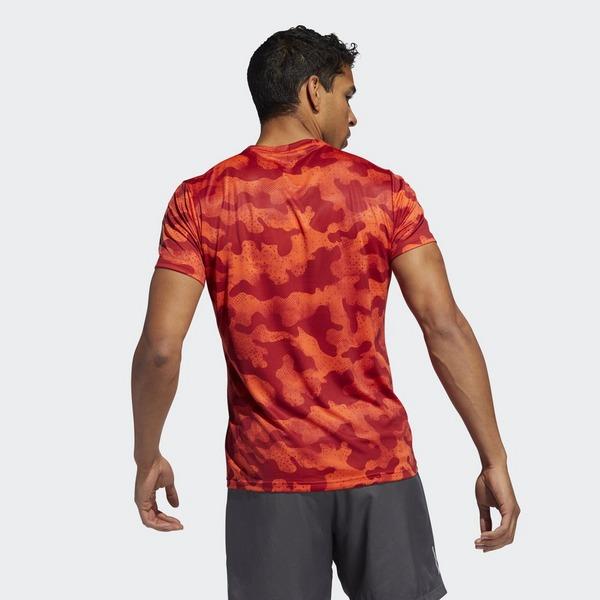ADIDAS Own the Run Urban Camo T shirt