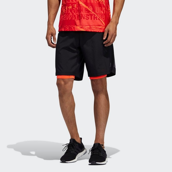 ADIDAS Own the Run Two-in-One Short