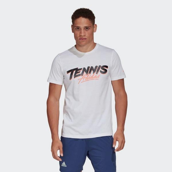 ADIDAS Tennis Script T-Shirt