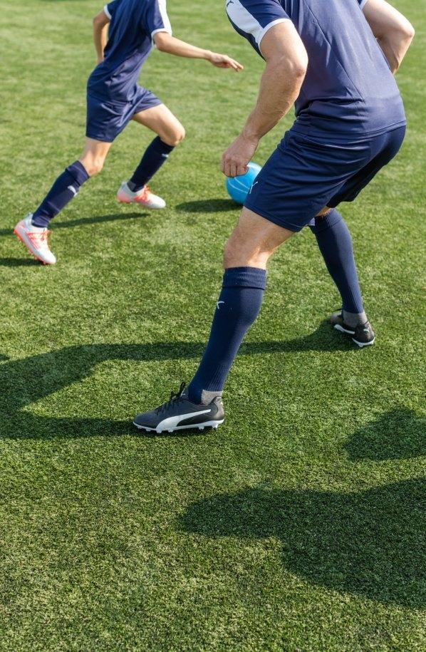 voetbal schoenen en kleding