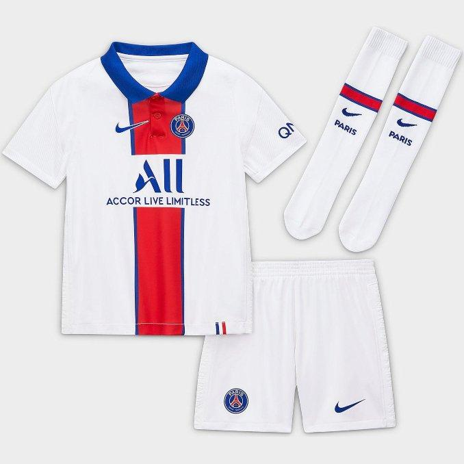 Segunda equipación Paris Saint Germain 2020-2021