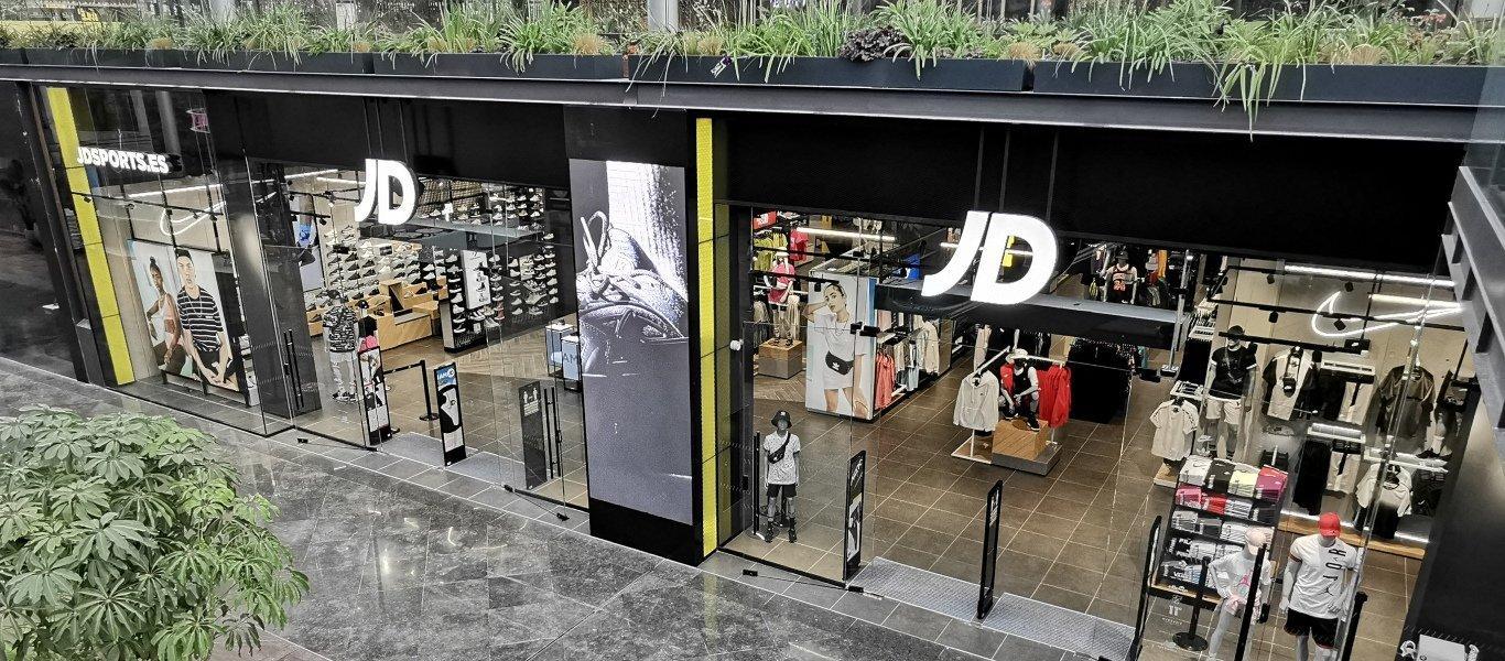 Fachada de tienda JD Sports