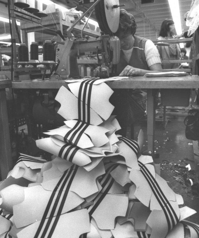 adidas proceso de fabricación
