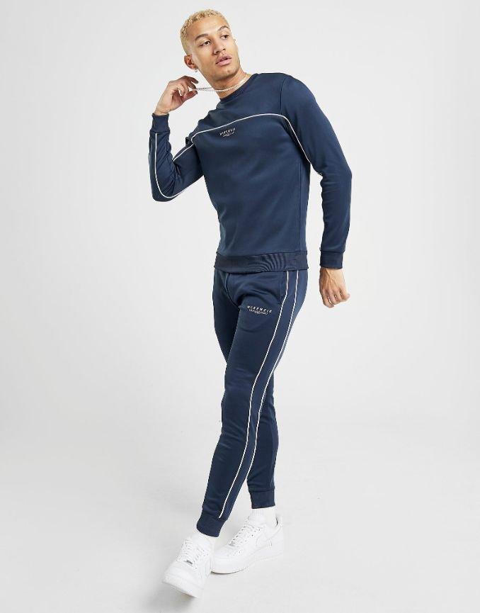 calças classic blue pantone homem