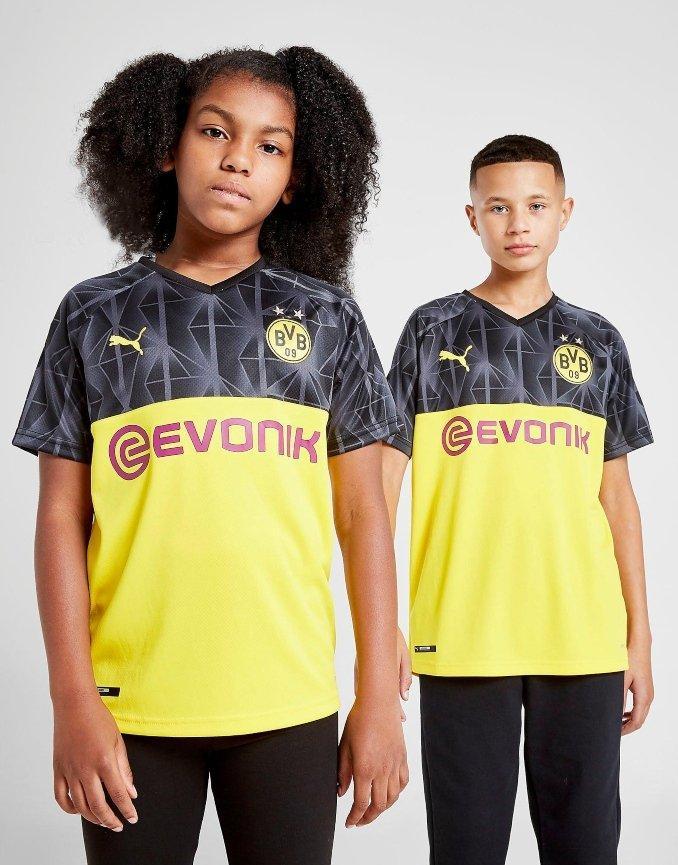 Camiseta de la tercera equipación del Borussia Dortmund para 2019 y 2020