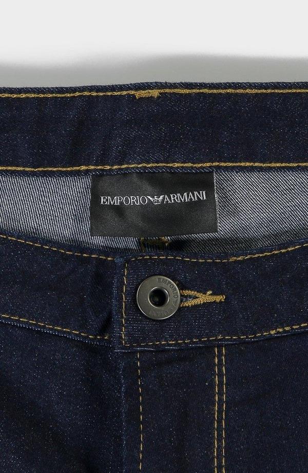J06 Contrast Stitch Jean