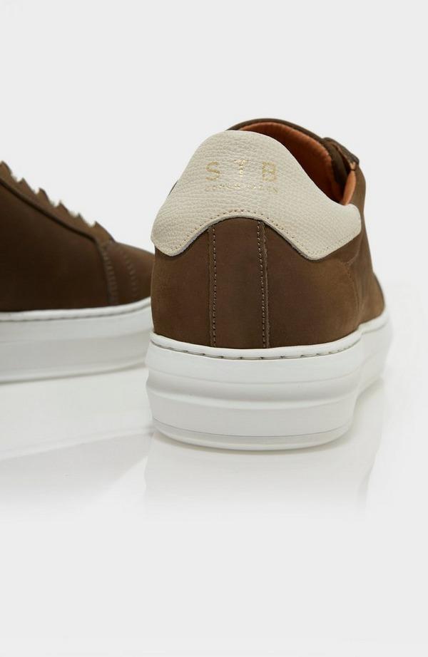Aphex Nubuck Leather Trainer