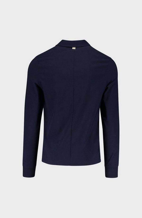 Salvatore Long Sleeve Polo