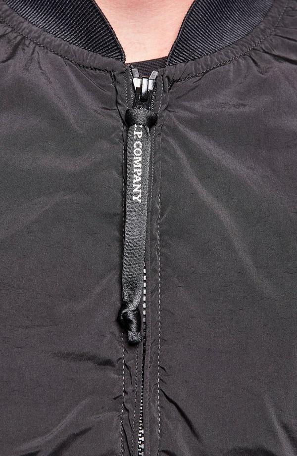 Lens Arm Lightweight Bomber Jacket - Black