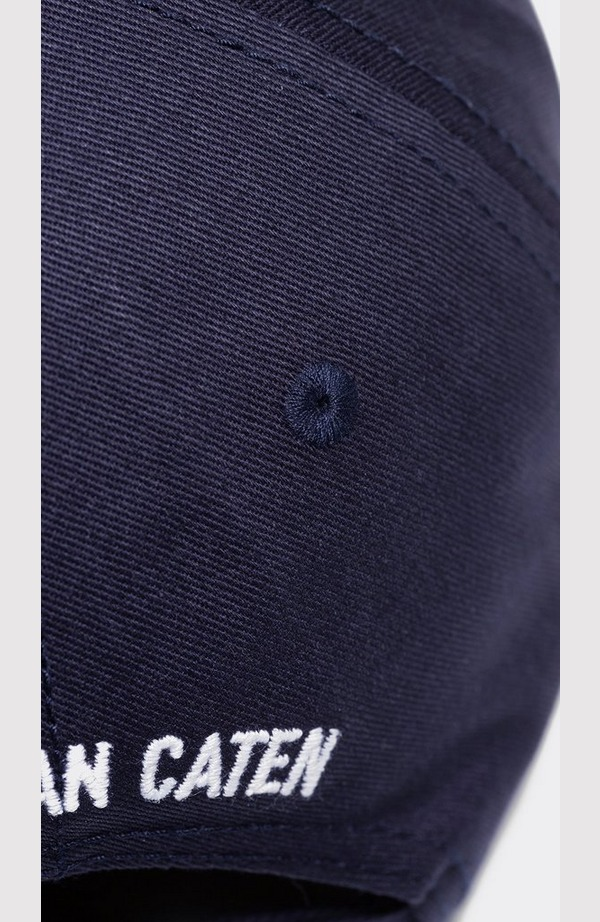 New Icon Small Logo Cap - Black