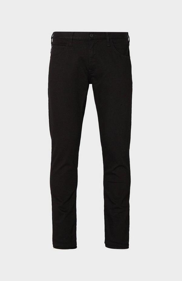 J10 Tonal Stitch Cotton Jean - Black