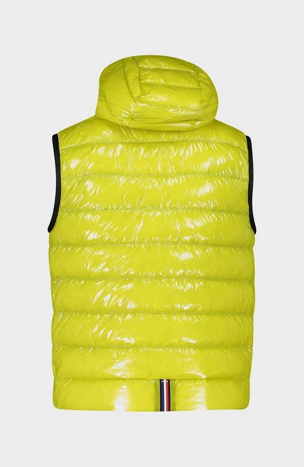 Lappe Gloss Hood Gilet - Yellow