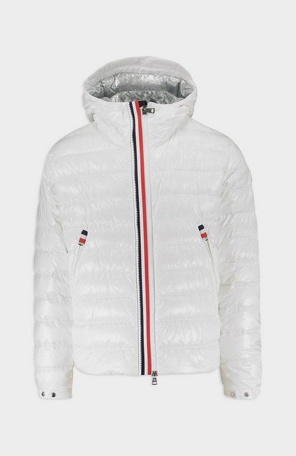 Blesle Hooded Jacket - White